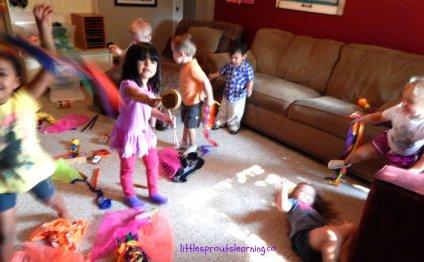 Preschool lesson plans, music