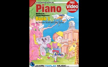 Piano Lessons for Kids - Book