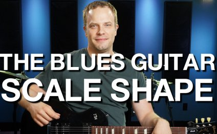 The Blues Guitar Scale Shape