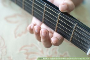 Image titled Rapidly Learn to Play the Acoustic Guitar Yourself Step 7