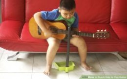 Image titled Teach Kids to Play Guitar Step 2