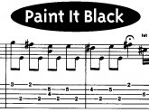 Paint It Black Guitar Lesson