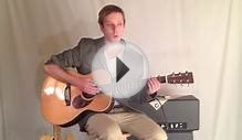 Acoustic Blues Lesson - acoustic blues guitar lesson for