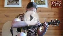 "Acoustic Guitar Lesson with Thomas Leeb - ""First Taps"""