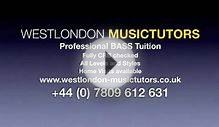 BASS LESSONS LONDON
