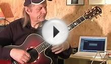 Blues easy Fingerstyle Guitar Lesson by Siggi Mertens