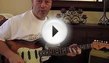 Blues Guitar Lessons - Lead blues Guitar Lick - Free