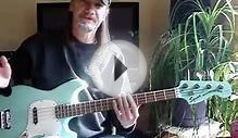 "Electric Bass Lessons ""Basic Bass Styles"" Part Two - Tab"