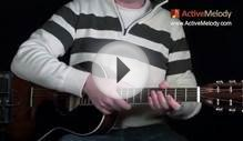 Eric Clapton Acoustic Blues Lead Guitar Lesson -- Ragtime