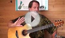 Greensleeves - Easy Classical Guitar Lesson Preview