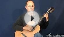 Greensleeves Variations Acoustic Guitar Lesson - Hector Garcia