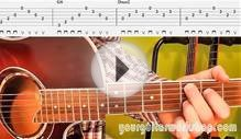 Guitar Lesson & TAB: How to play Behind blue eyes by Limp