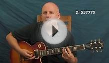 Rock n Roll rhythm & slapback delay guitar lesson Elvis