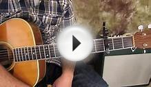 super easy acoustic guitar lesson for beginners
